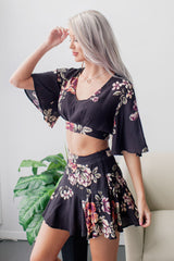 Floral Beach Two Piece Set