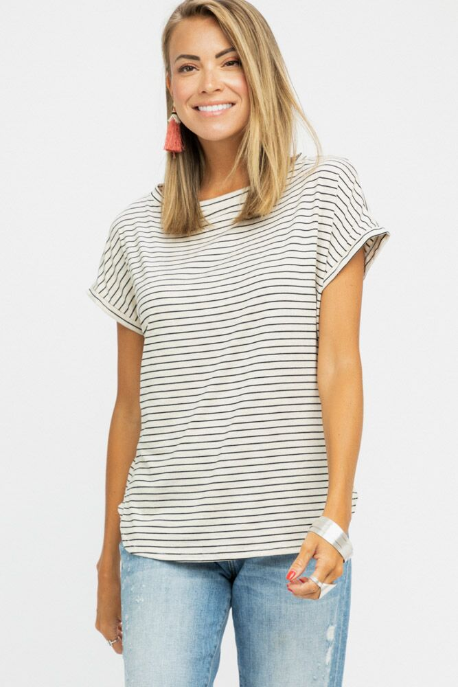 Cast Iron Soul Striped Tee