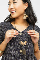 Layered Natural Necklace - Bohme