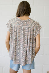 The Simple Sunset Top