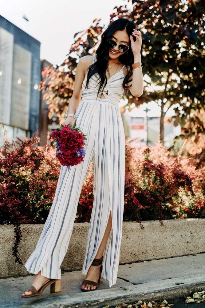 Saint Tropez Wide Leg Jumpsuit