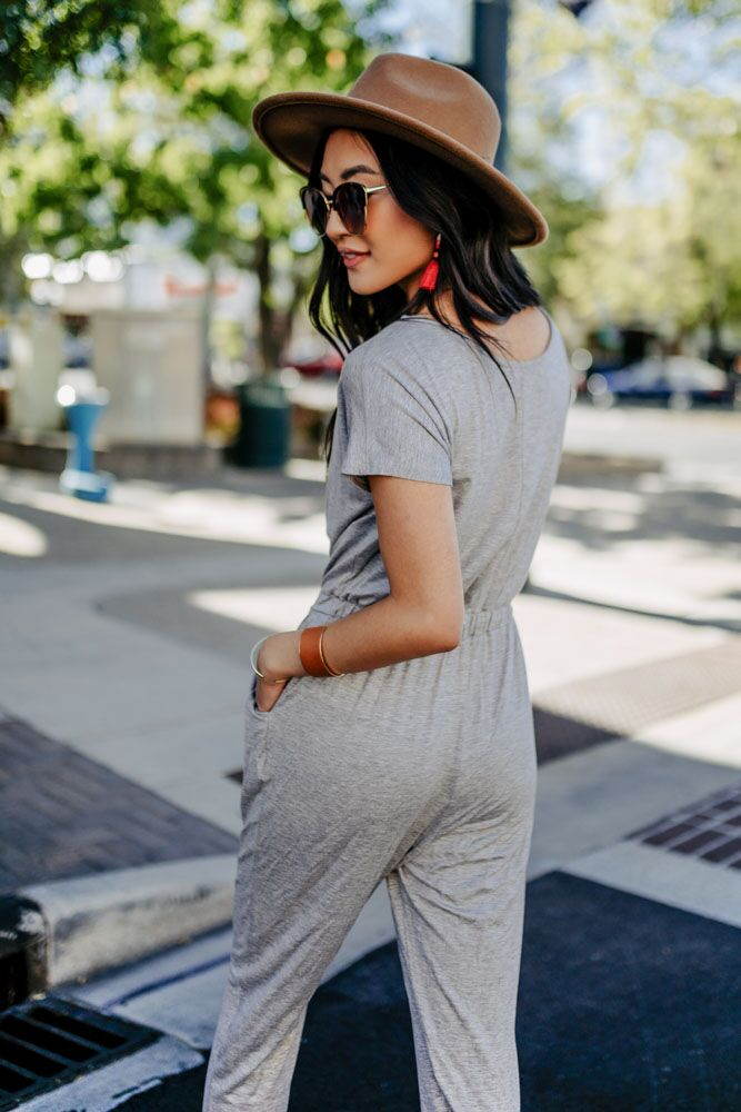 Kavala Jumpsuit in Grey