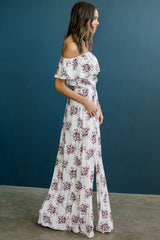 Blooming Plum Dress