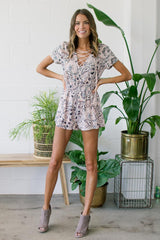 The Lady Cosmo Romper