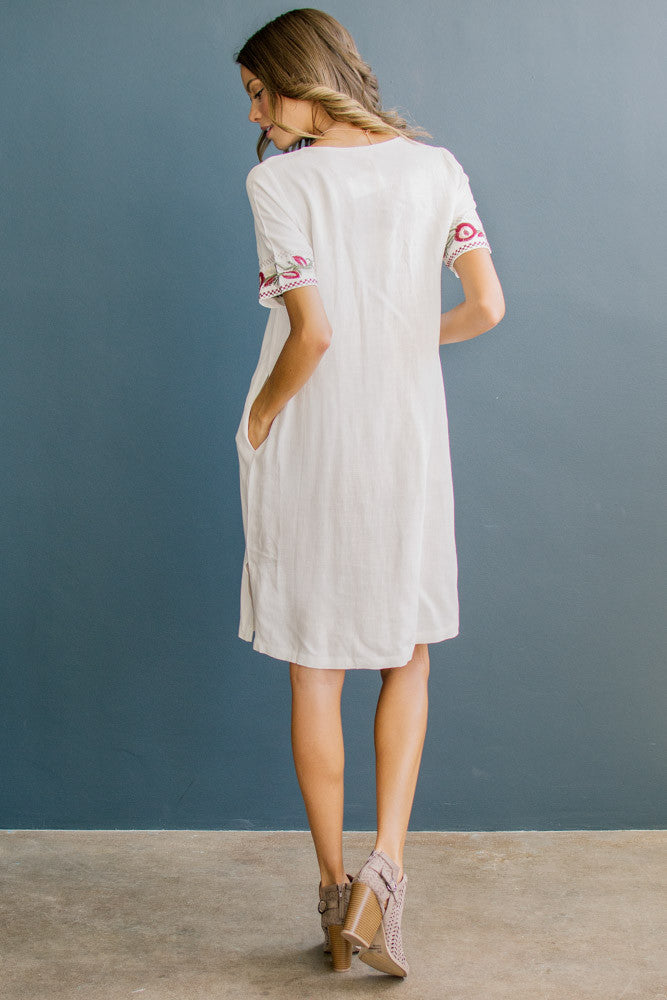Little Anthemum Shift Dress