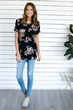 Black Poppy Top