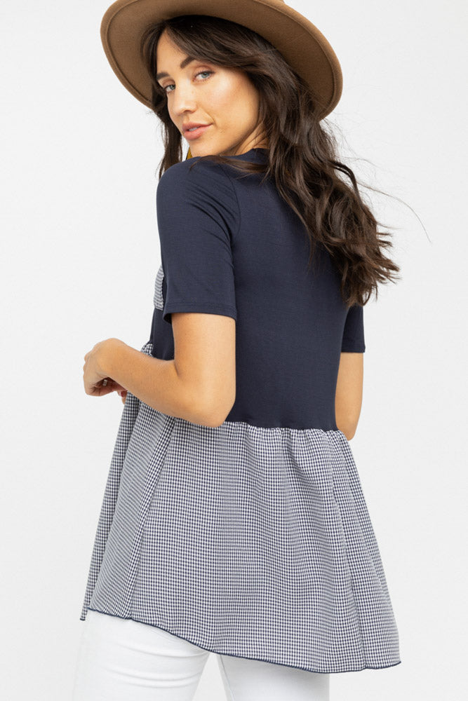 Bluebell Gingham Top - Bohme
