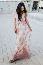Willow Maxi Dress in Mauve