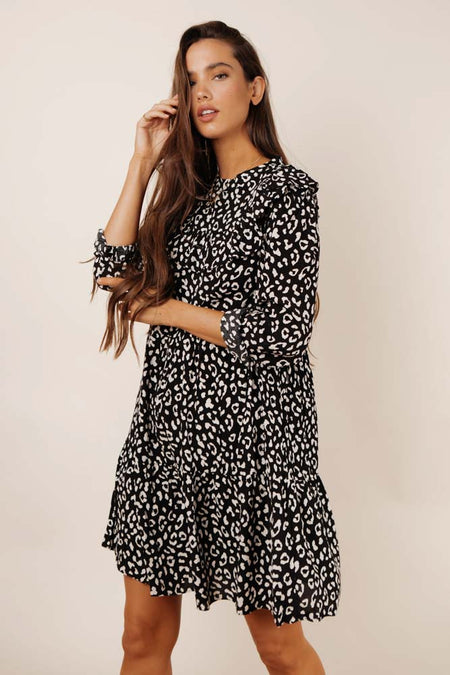 Millie Leopard Print Dress - FINAL SALE