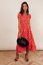 Field of Daisies High-Low Dress
