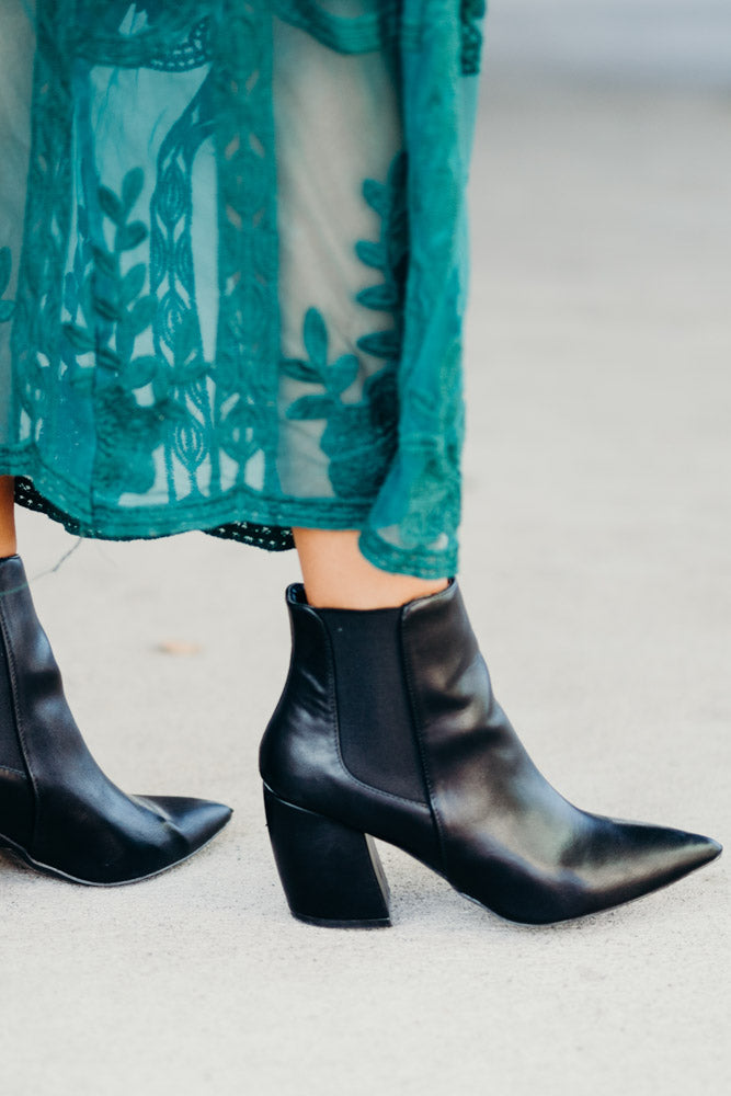 Milkyway Ankle Boots in Black-FINAL SALE