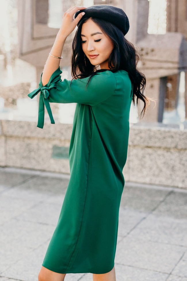 Together in Paris Dress in Emerald
