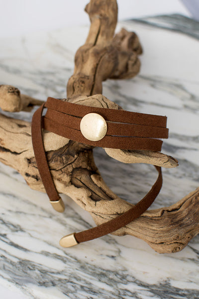 Settle Down Wrap Choker