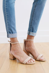 Pinned On The Cork Board Heels