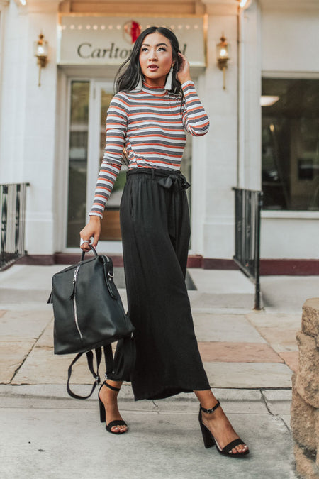 Manchester Culottes in Black