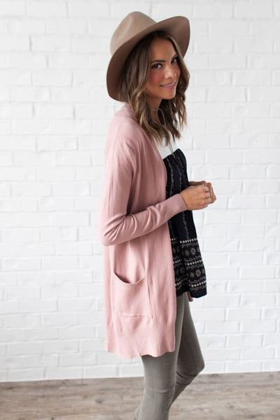 Ticket to Cozy Open Front Cardigan