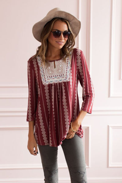 Barcelona Beauty Embroidered Tunic