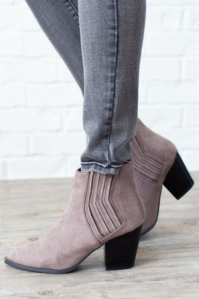 Play it Cool Suede Ankle Boots