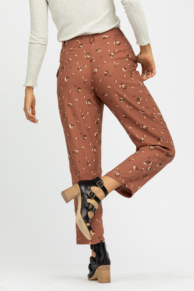 Flowers in Dust Highwaist Pants - Bohme