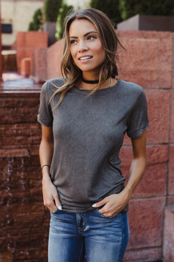 Simply Casual Distressed Top