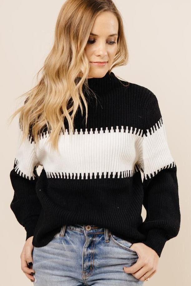 Too Cool to Care Sweater