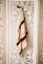 striped silk scarf Bohme