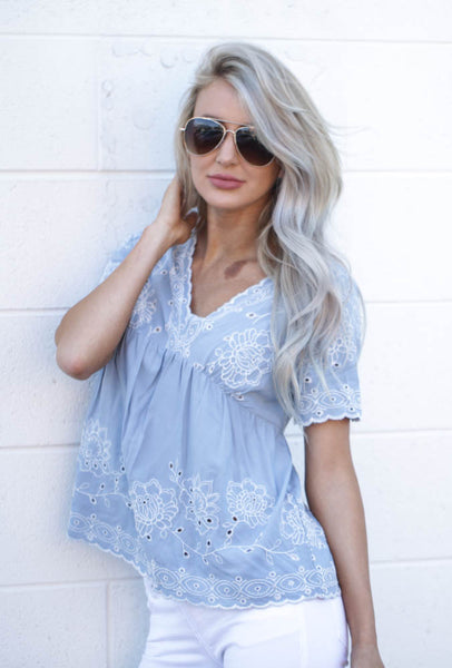 State of Lace Top