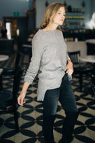 Serina Sweater in Grey