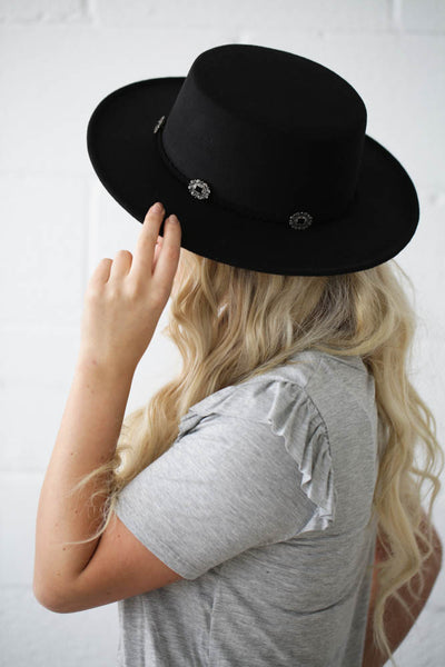 Buckle-Down Hat