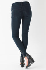 Little Miss Violet Blackberry Skinny Jean