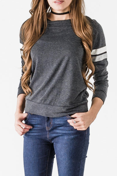 Pullover Knit Rugby Top