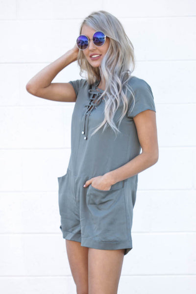 Steal of a Teal Romper
