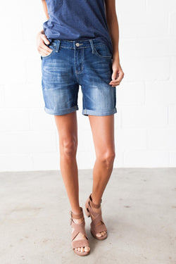 Boyfriend Denim Shorts FINAL SALE