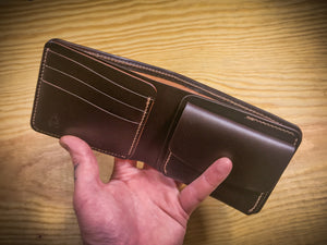 hand made bifold wallets