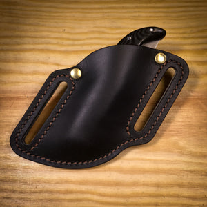 NEW 20% OFF Pancake pocket knife leather sheath
