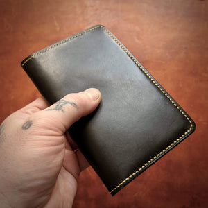 TexuCrafts Accessories Black Leather cover / wallet for field notes booklets and passport