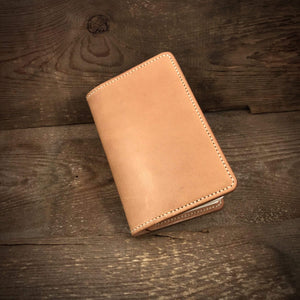 TexuCrafts Accessories Natural Leather cover / wallet for field notes booklets and passport