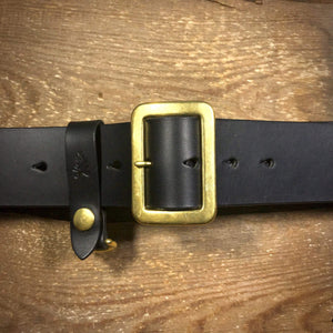 "TexuCrafts Belt Black / 75cm (30"") The Garrison belt 2"""
