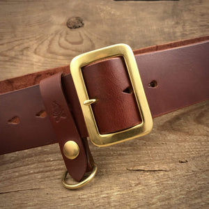"TexuCrafts Belt Honey / 75cm (30"") The Garrison belt 2"""