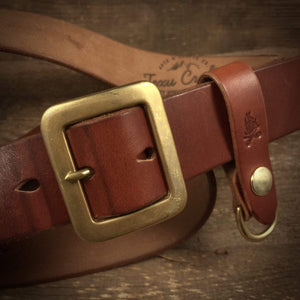 "TexuCrafts Belt Russet / 75cm (30"") The Garrison belt 1 1/2"""