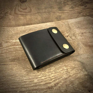 Biker Bifold Wallet with coin pouch