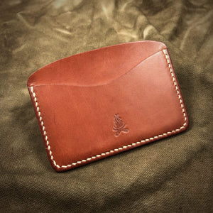 TexuCrafts Pocket Wallet Russet Pocket Card Wallet