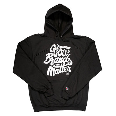 Grow Brands That Matter Script Hoodie