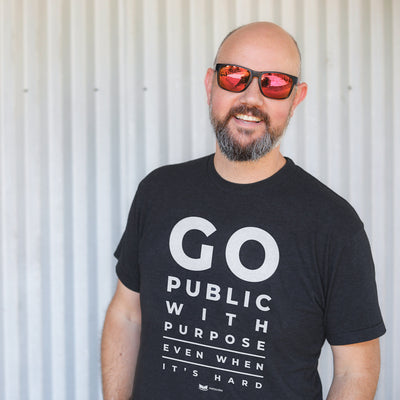 Go Public with Purpose T-Shirt