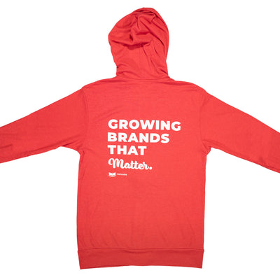 Grow Brands That Matter Lightweight Zip Hoodie