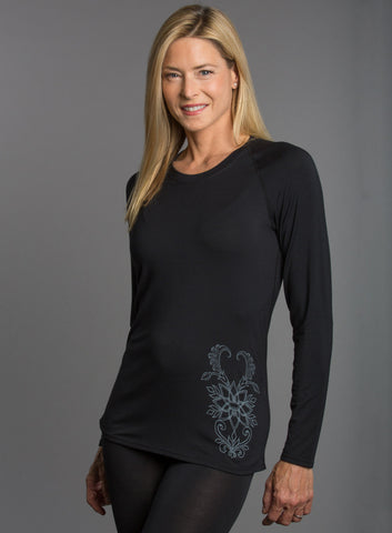 Angel Cashmere Graphic Crewneck 503-15