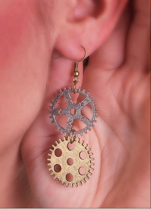 Double Sprocket Earrings