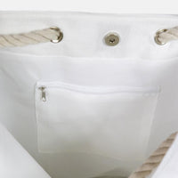White Beach Tote (Carryall)-PM
