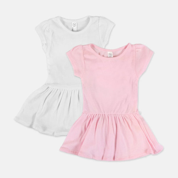 Toddler Rib Dress 5323-PM