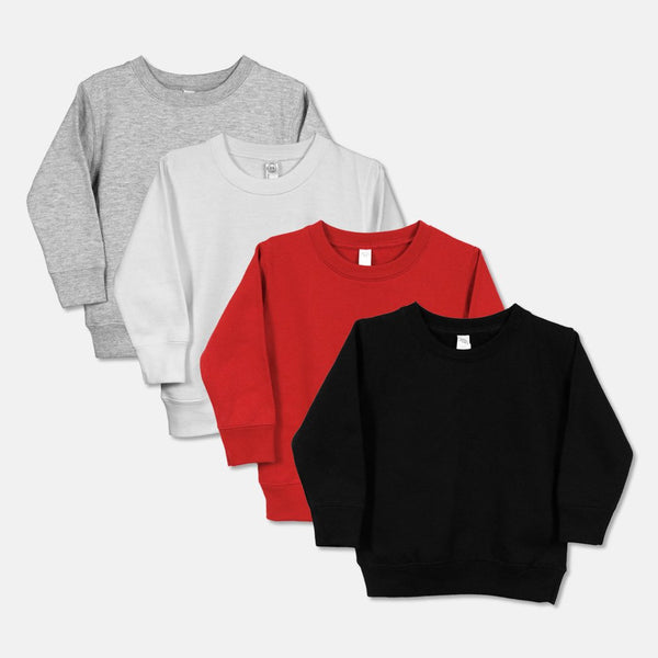 Toddler Crew Neck Sweatshirt - 3317-PM